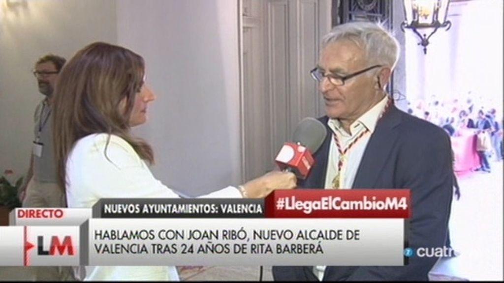 """Joan Ribó: """"Todo lo de Rita Barberá es pasado, me interesa muy poquito"""""""