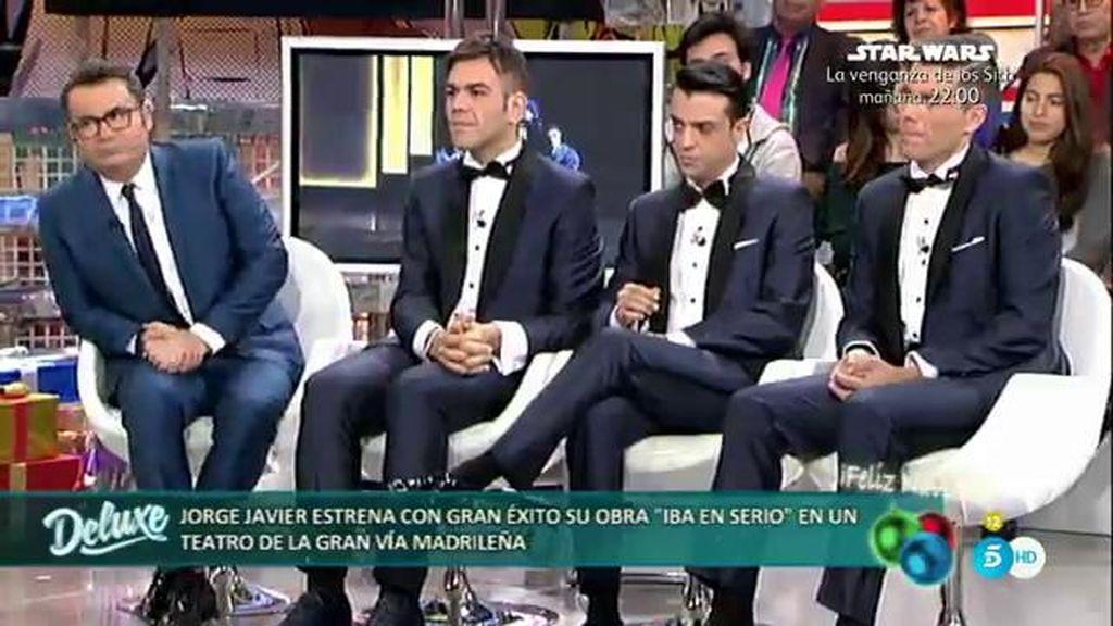 """Jorge Javier: """"Me gustaría continuar haciendo teatro y con la misma compañia"""""""