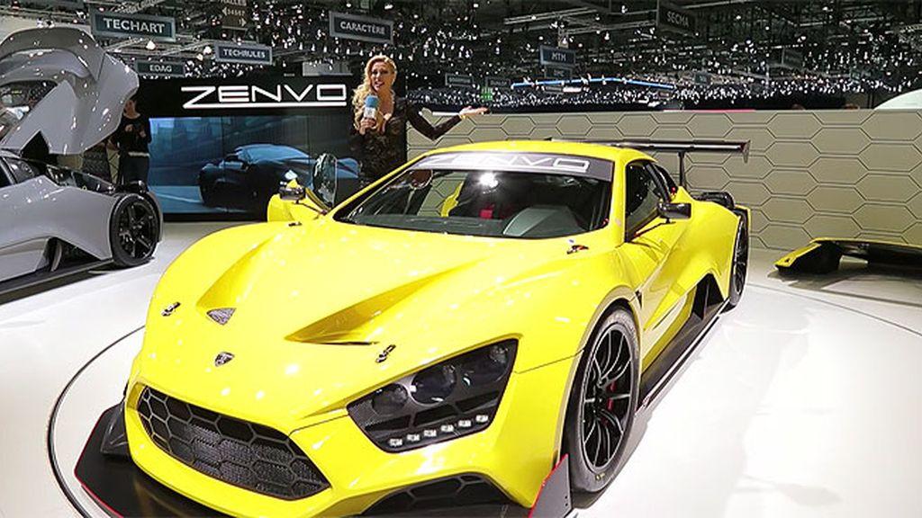 Superdeportivos en Ginebra: Bentley, Zenvo ts1, Aston Martin, Bugatti