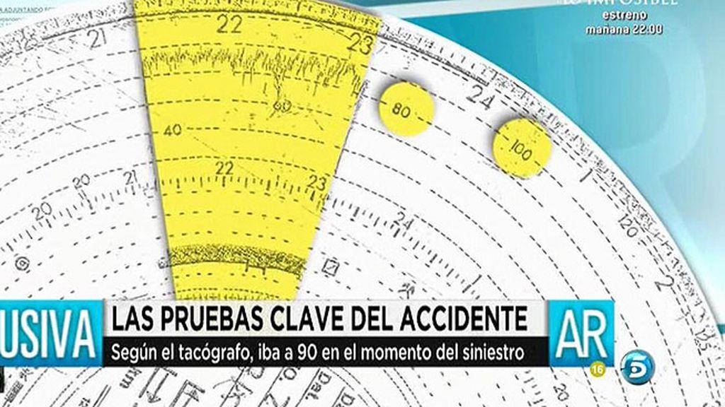 El tacógrafo del autobús siniestrado en Murcia confirma que cogió la curva a 90km/h