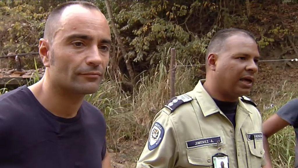 Vadillo se 'infiltra' en la policía de Sucre