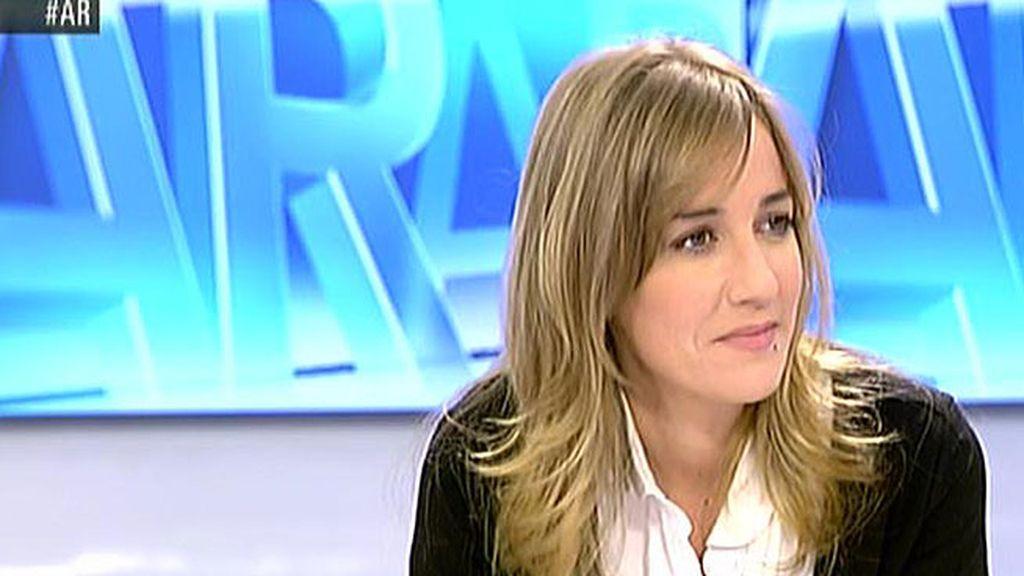 """Tania Sánchez, sobre su candidatura: """"Yo voy a trabajar para que haya una alternativa al PP en la Comunidad de Madrid"""""""