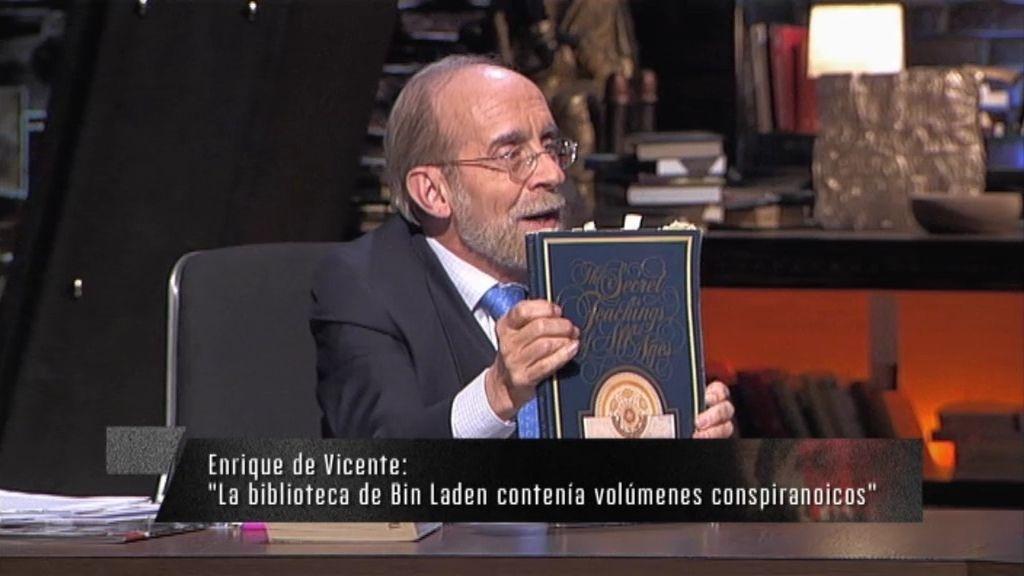 """Enrique de Vicente: """"La biblioteca de Bin Laden contenía volúmenes conspiranoicos"""""""