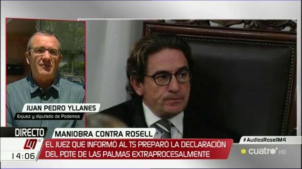 """Yllanes, sobre el juez Alba: """"Es un ataque contra la independencia del poder judicial"""""""
