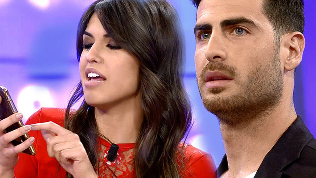 Sofía demuestra con un Whatsapp que Carlos quería ser su pretendiente