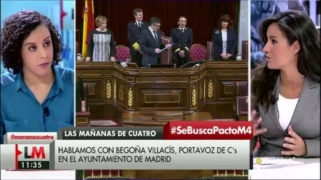 """Villacís: """"Llegaremos a entendimientos con Podemos, pero no en modelo de Estado"""""""
