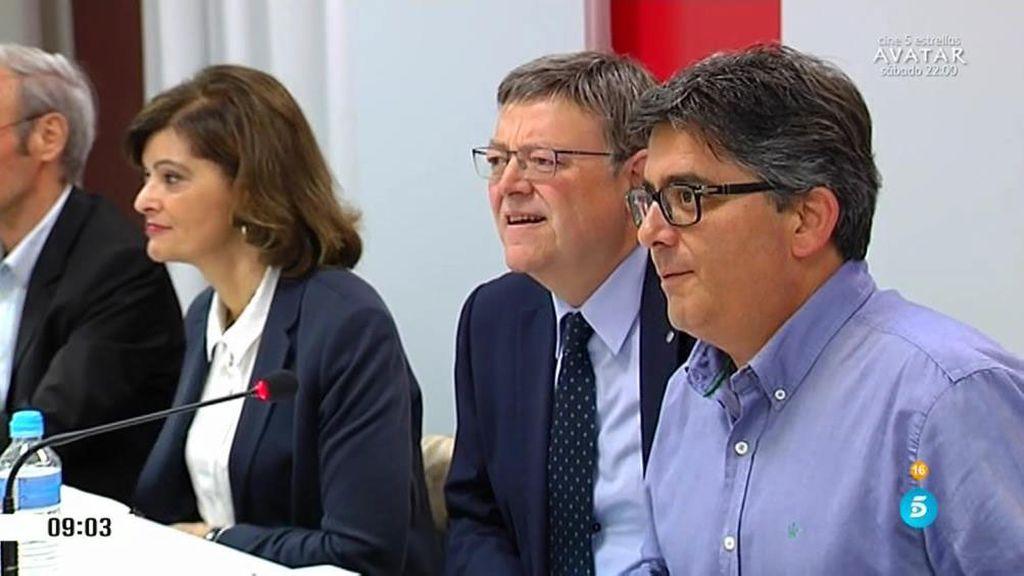 Ximo Puig sigue explorando alternativas para ir al Senado con Podemos