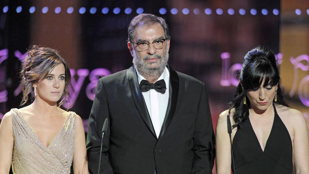 Marta Etura, Enrique González Macho y Judith Colell