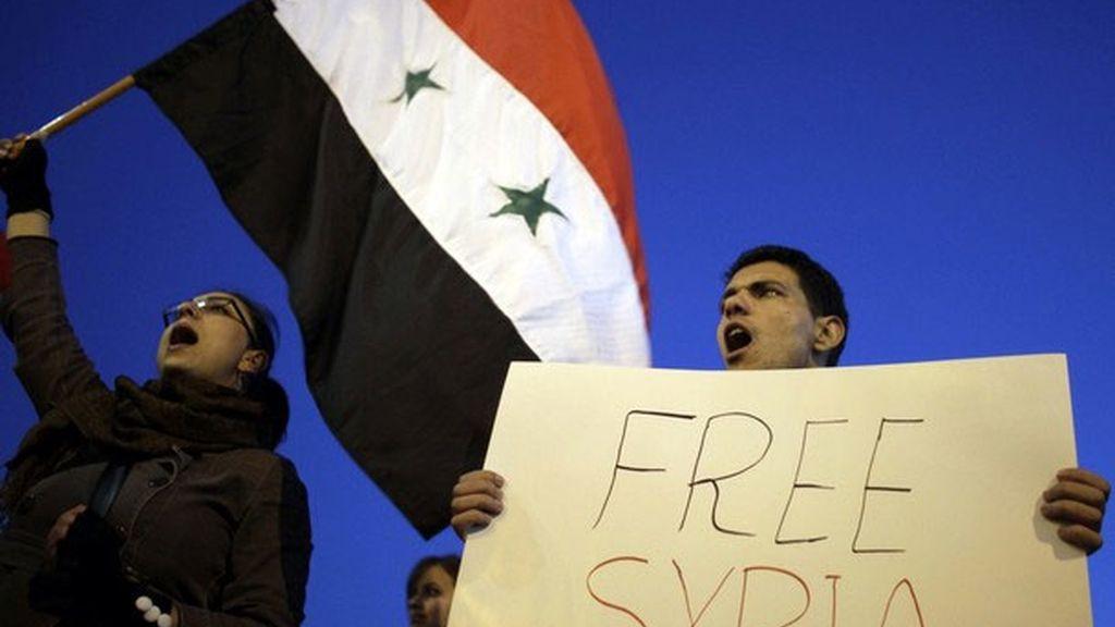Protestas contra el régimen de Bashar al-Assad