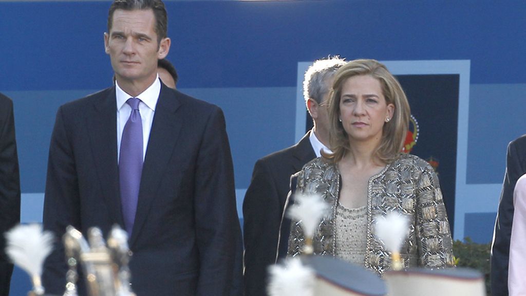 La Infanta Cristina y su marido, Iñaki Urdangarin