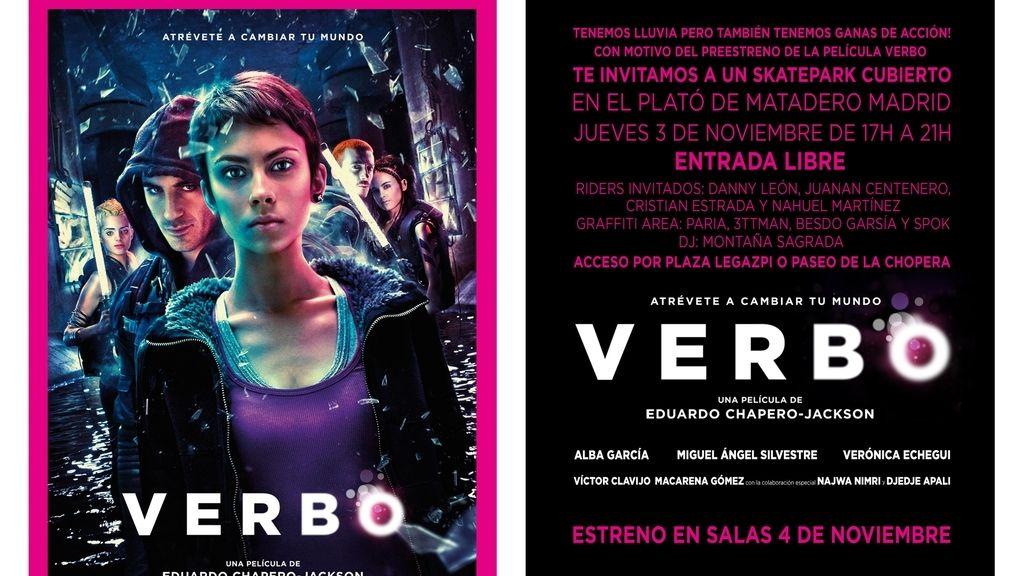 Flyer première Verbo