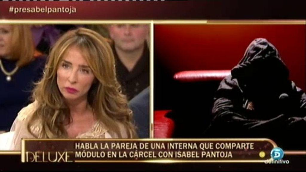 """Claudia: """"El vis a vis de Isabel Pantoja se hizo a escondidas del resto de las presas"""""""
