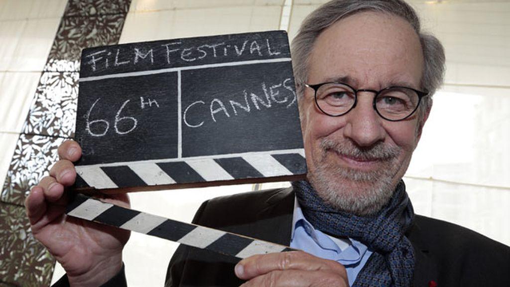 Spielberg llega a Cannes, donde será presidente del jurado