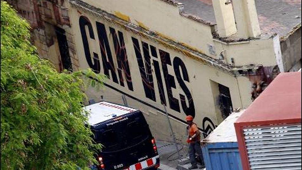 Centro 'okupa' de Can Vies en Barcelona