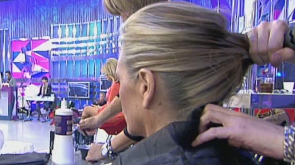 'Sálvame' se convierte en una peluquería