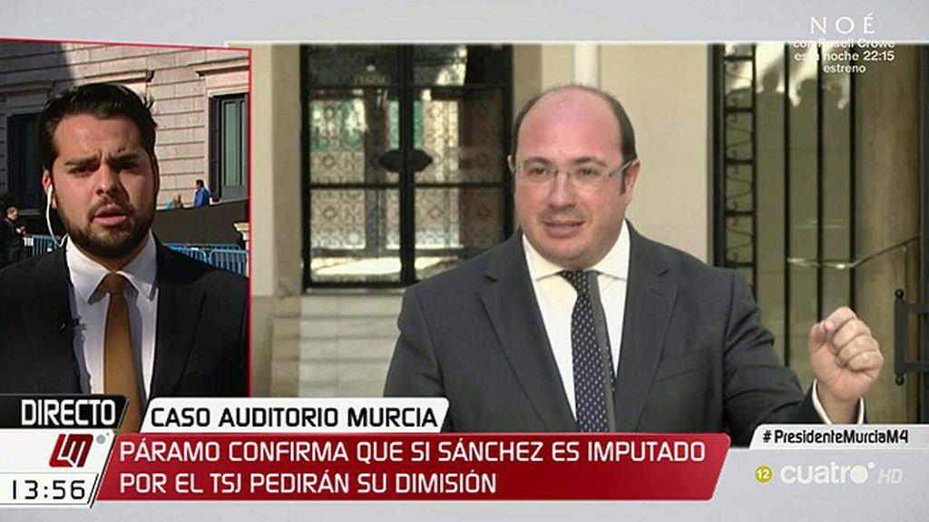 """De Páramo, Ciudadanos: """"Vamos a pedir la dimisión de Pedro Antonio Sánchez"""""""