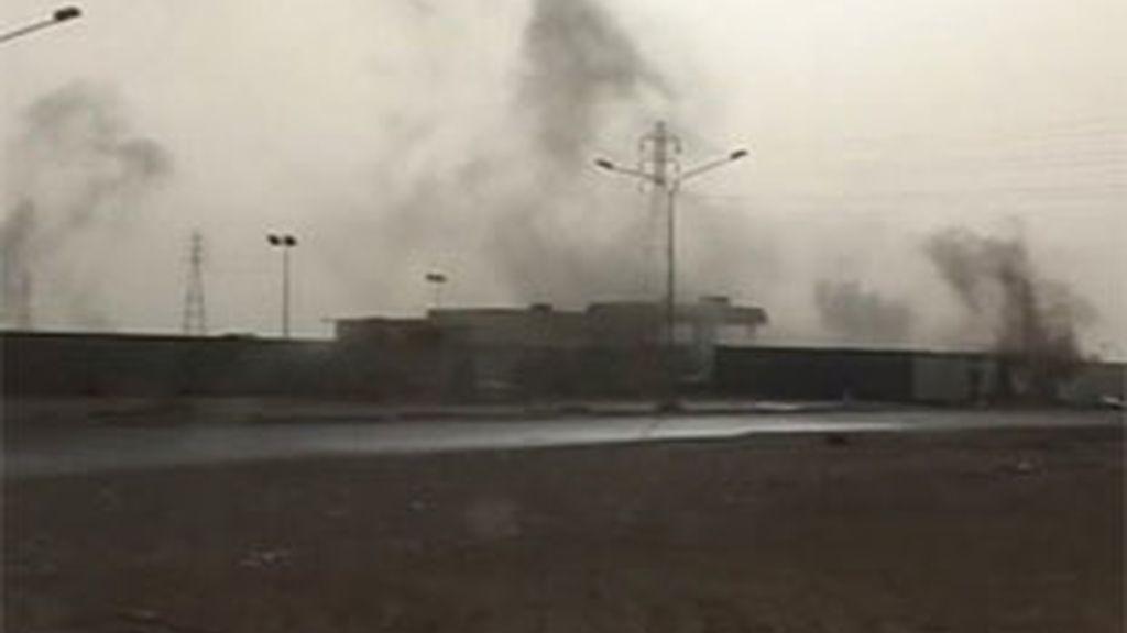Las tropas de Gadafi vuelven a atacar Misrata. Foto: AP.