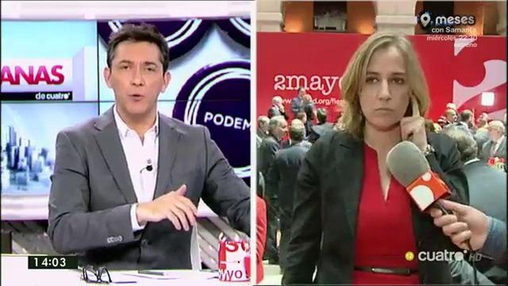 """Tania Sánchez responde a Cosidó: """"Un Director General de la Policía no debería estar preocupado en hacer campaña"""""""