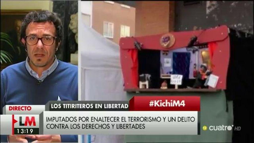 """J.M. González, 'Kichi', sobre el caso titiriteros: """"Lo que se ha desatado es un esperpento"""""""