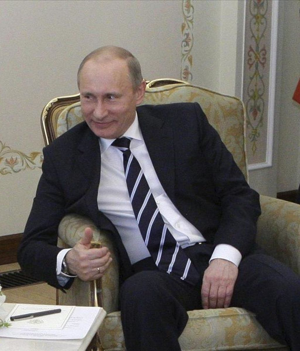 El primer ministro ruso Vladimir Putin. EFE/Archivo