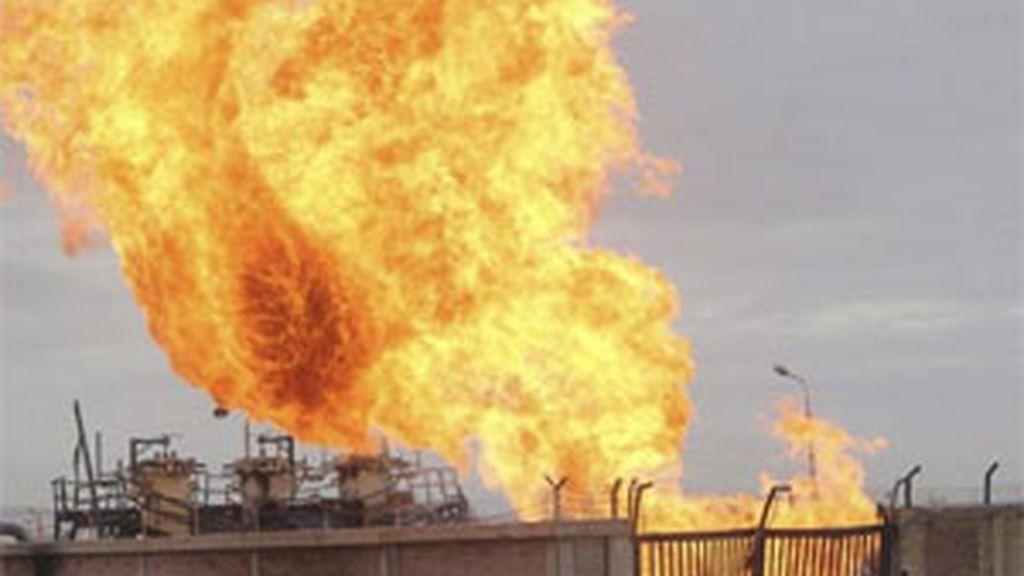 Ataque a un gasoducto del SInaí el pasado mes de febrero. Foto: EFE