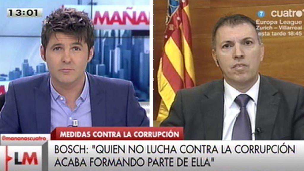 """Joaquim Bosch: """"Quien no actúa contra la corrupción, acaba formando parte de ella"""""""