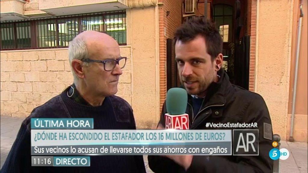 """Modesto: """"He perdido 50.000 euros. Tiene más cara que 8 panes juntos"""""""