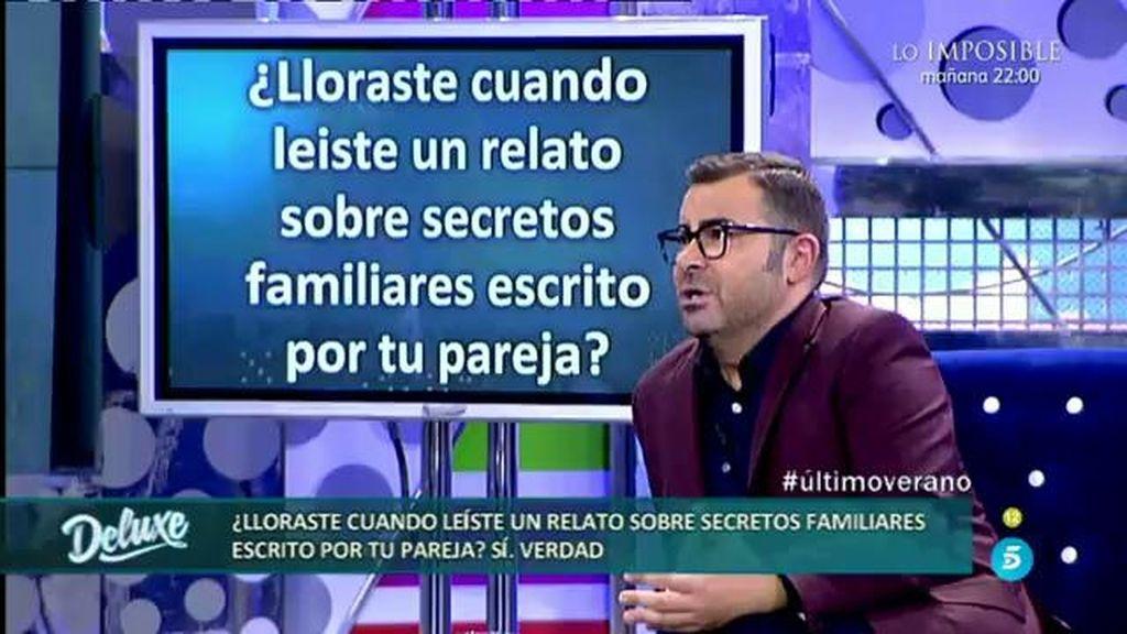 """Jorge Javier, sobre su pareja: """"Le insté a que escribiera su historia familiar"""""""