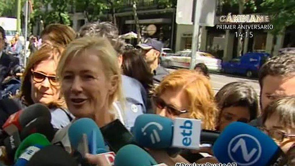 """Ana Duato: """"Por fin he podido declarar ante el juez y me siento tranquila"""""""