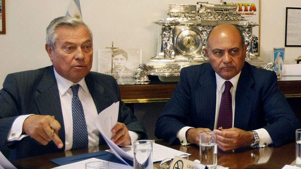 Gonzalo Pascual junto a su socio Gerardo Díaz Pascual