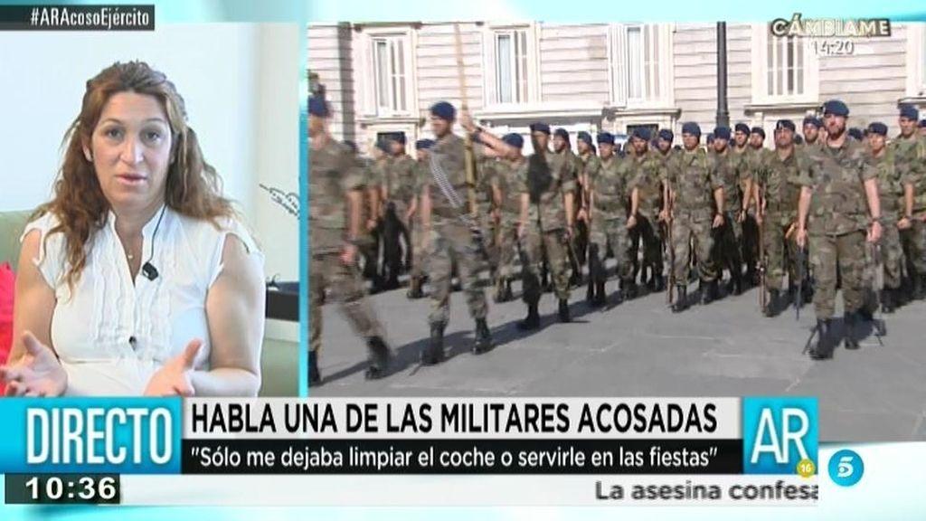 """Gloria Márquez denuncia acoso en la SATA: """"El mando nos decía, solo valéis para limpiar"""""""