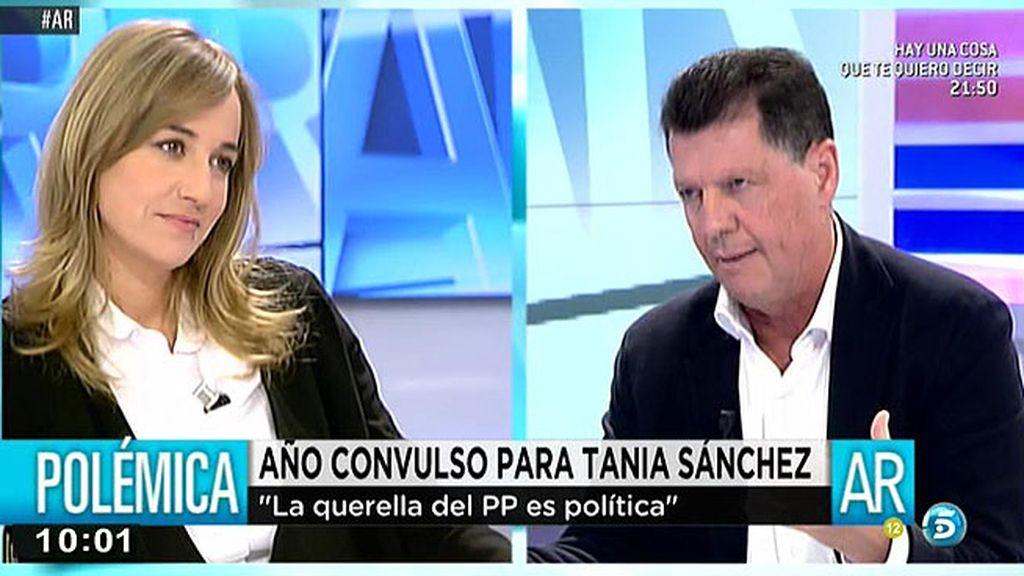 """Tania Sánchez: """"No hay un solo euro de dinero público desviado"""""""