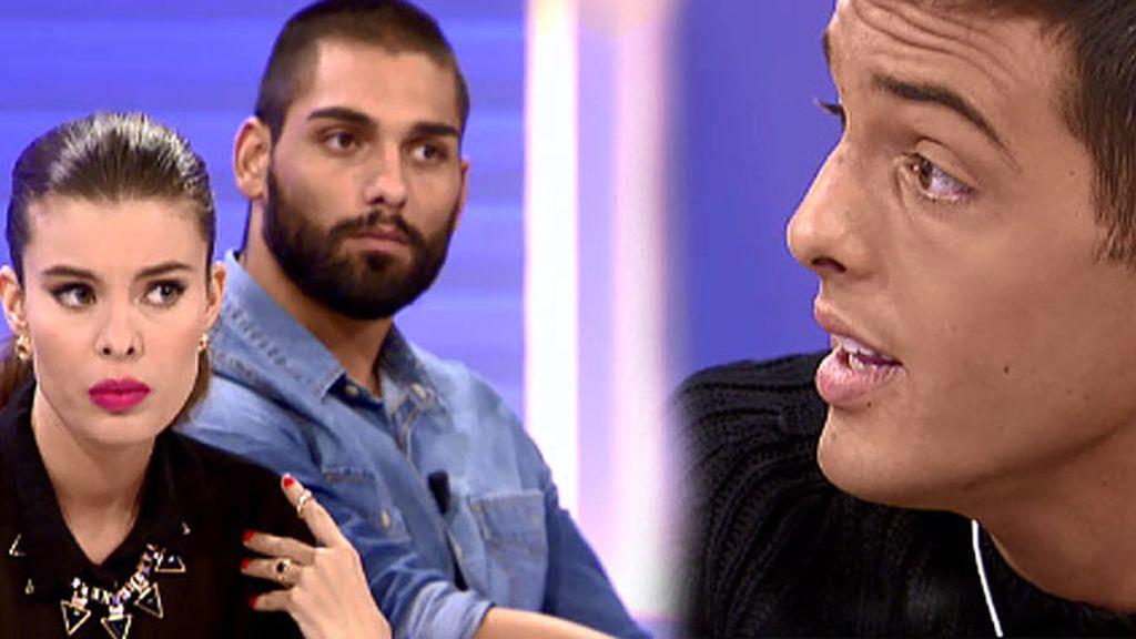 """Lukas explica lo que sucedió: """"Hubo calentones entre Triana y yo"""""""