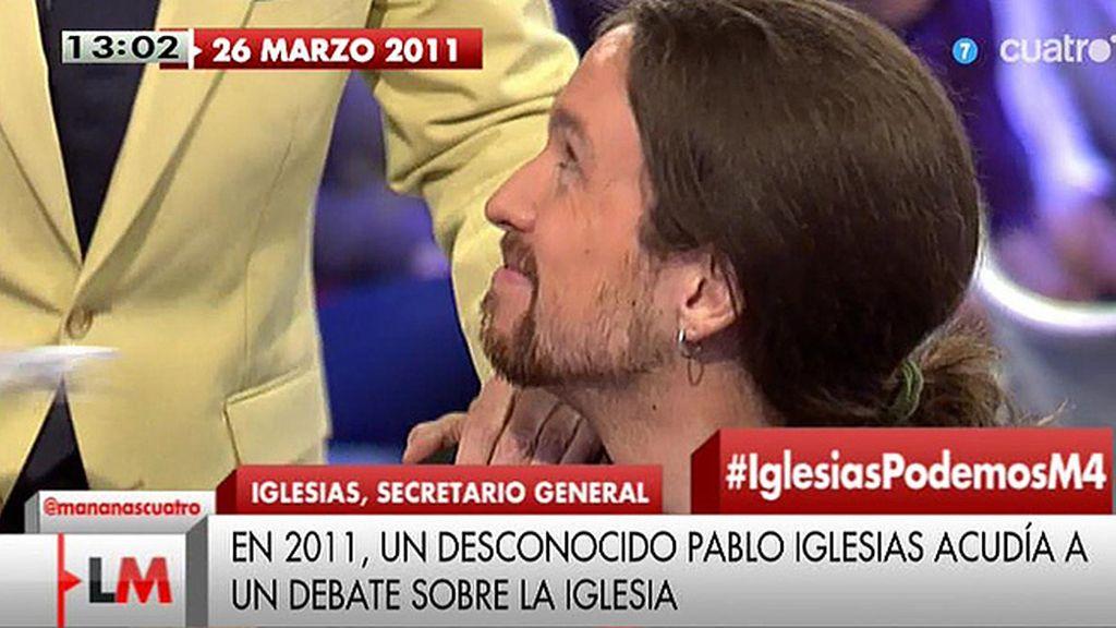 El debut de Pablo Iglesias