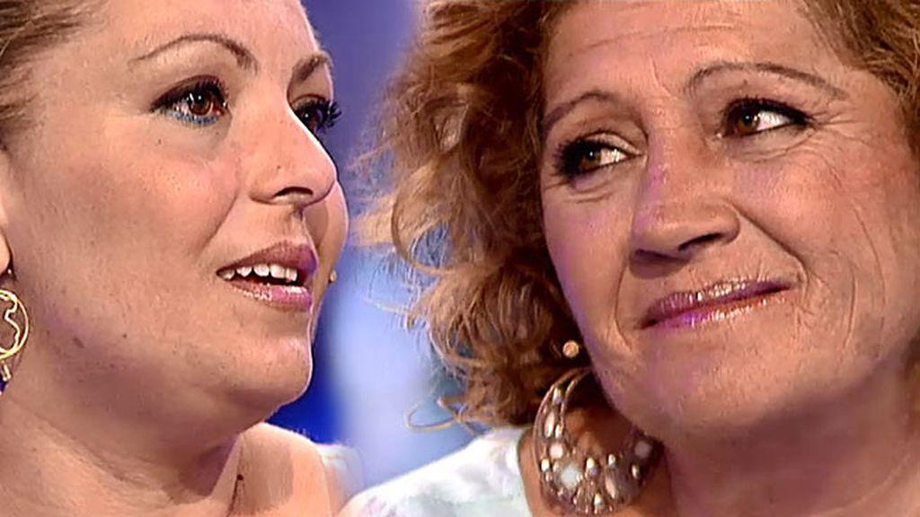 """Eugenia, a María: """"Te quiero, lo que ves hoy aquí es gracias a ti"""""""