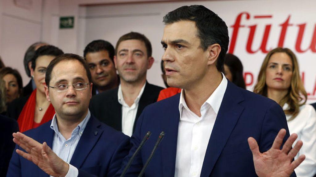 """Pedro Sánchez: """"Se abre una nueva etapa que tiene que dejar atrás la imposición"""""""