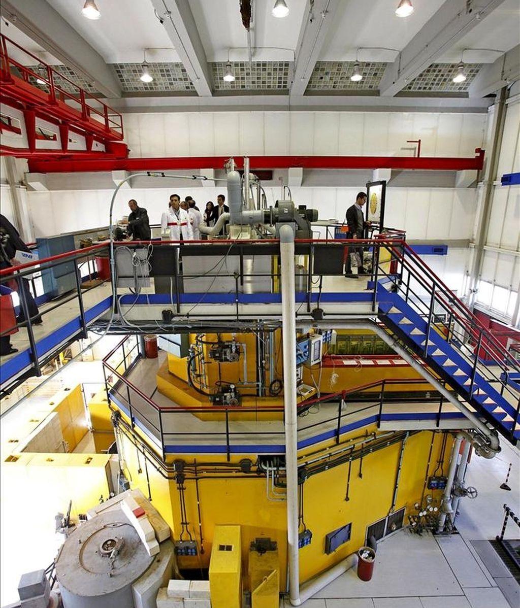 El reactor nuclear TRIGA del Centro de Investigación de ENEA Casaccia en Anguillara (Italia). EFE/Archivo