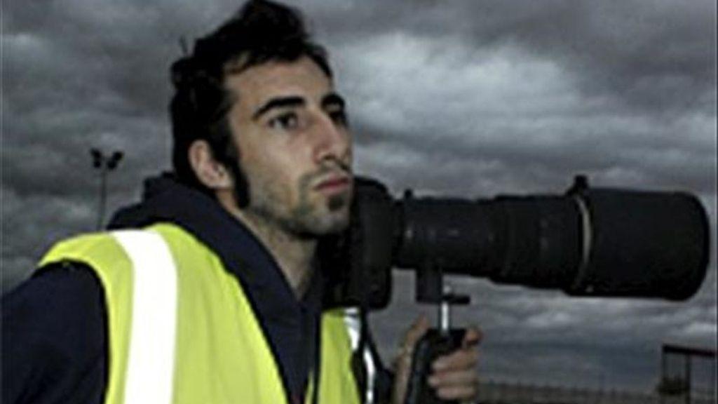 Imagen tomada de la página web del fotógrafo español Manuel Varela de Seijas Brabo, desplazado para cubrir la guerra en Libia, que se encuentra desaparecido junto a otros tres periodistas desde el pasado lunes, constató hoy Efe. EFE