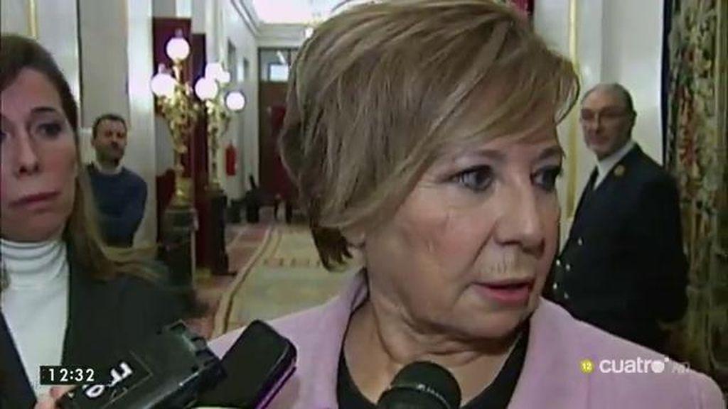 """Villalobos, de Sánchez: """"Está intentando salvar su culo, que cuando llegue el congreso de PSOE siga siendo secretario general"""""""