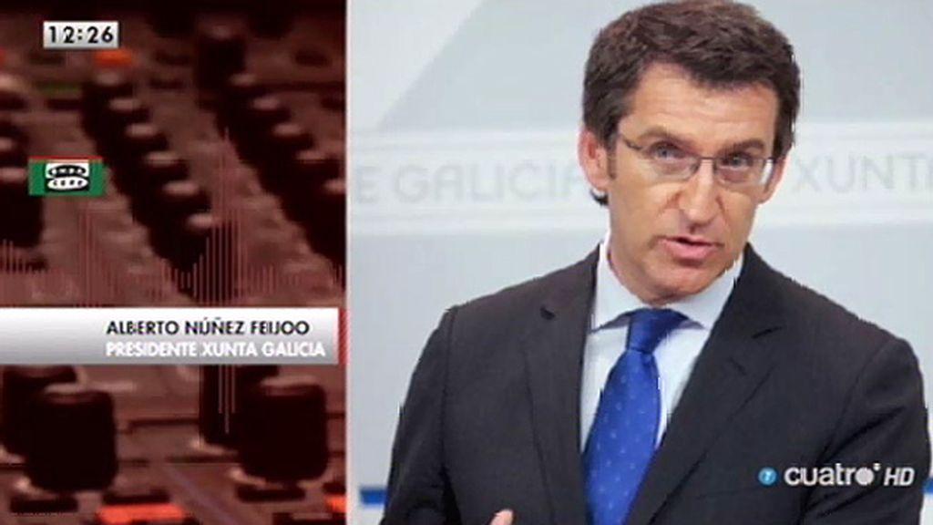 """Núñez Feijoo, sobre la financiación del PP: """"Probablemente por un vacío legal, no lo hemos hecho de forma correcta"""""""