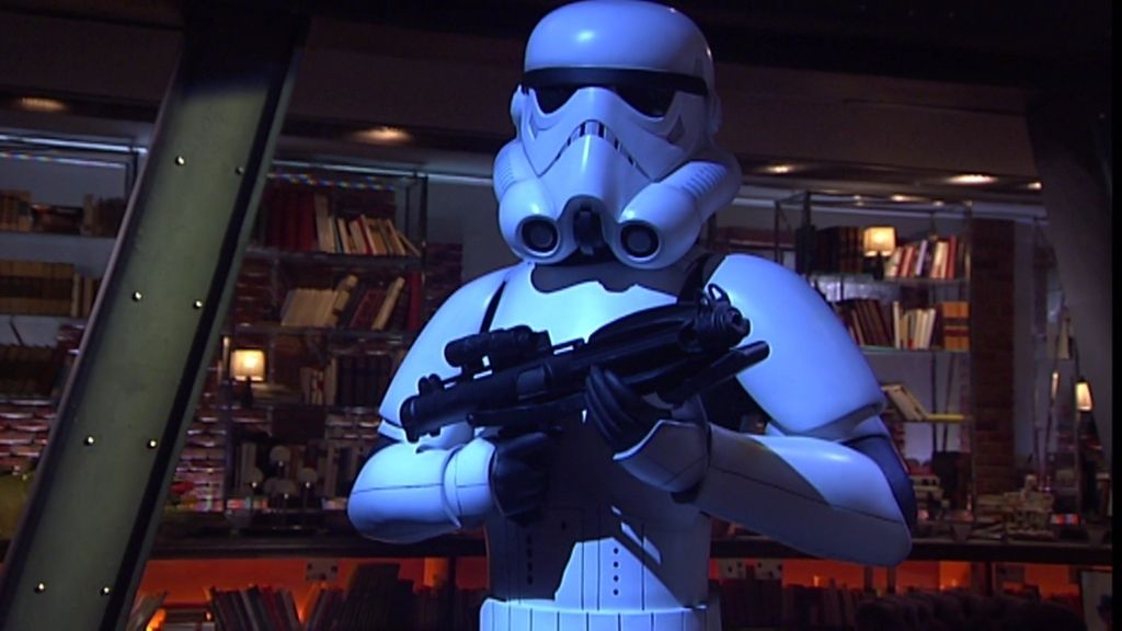 Star Wars muestra que el uno se divide en dos, el lado oscuro y el luminoso