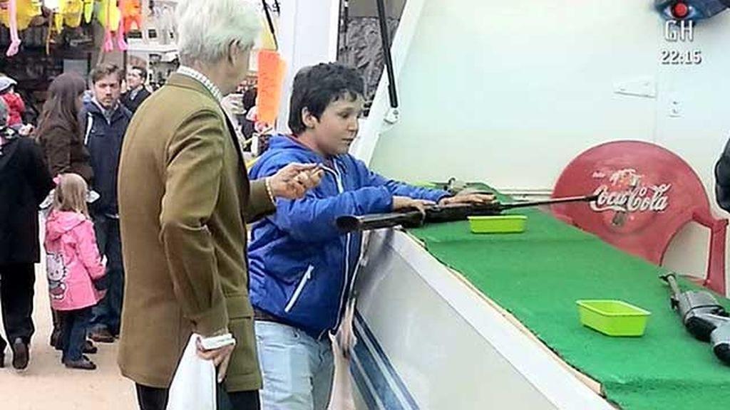 El nieto del Rey se va a la verbena de San Isidro