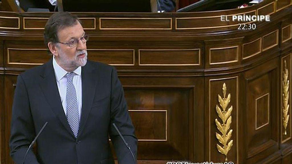 """Rajoy, sobre su 'no': """"Lo explicaré con tal claridad que hasta ustedes lo entenderán"""""""