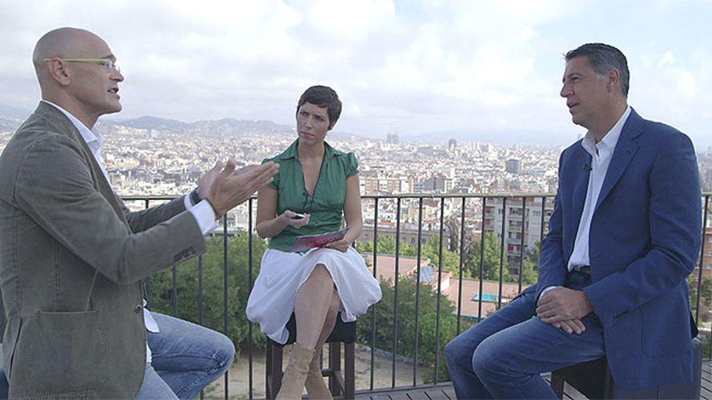 El cara a cara entre Xavier García Albiol y Raul Romeva, íntegro