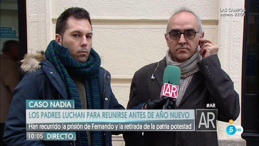 """Abogado padres Nadia: """"El auto de prisión de Fernando ha sido desestimado"""""""