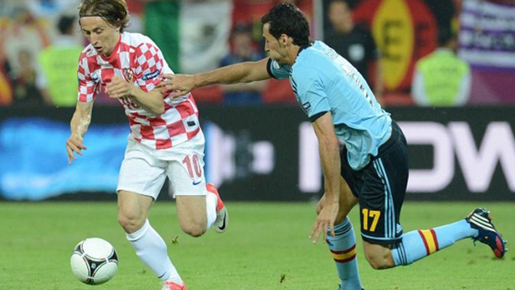Españoles y croatas se ven las caras en el tercer partido