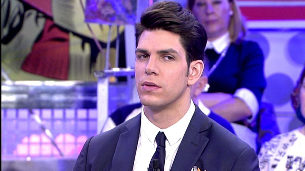 """Diego Matamoros, sobre su padre: """"Se está dando cuenta de todo lo que se ha perdido"""""""