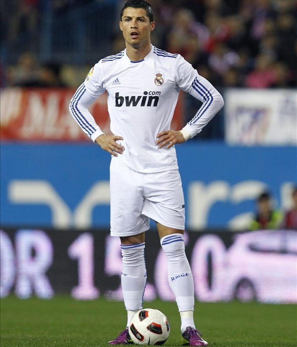 Cristiano Ronaldo, jugador portugués del Real Madrid. EFE/Archivo