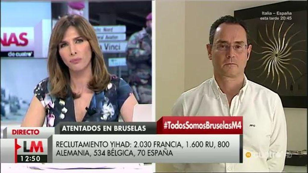 """Pedro Baños: """"El ISIS busca a europeos no integrados y que se autoradicalizan"""""""