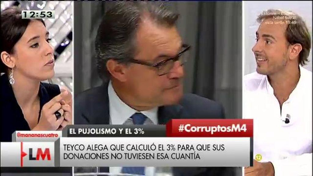 """Javier Dorado, a Irene Montero: """"Estáis obsesionados con el PP"""""""